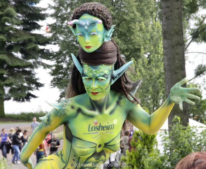 Bodypainting Meeting in Losheim