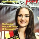 Saarinfos Plus - Februar 2014 - Titelbild mit Miss Saarland 2014