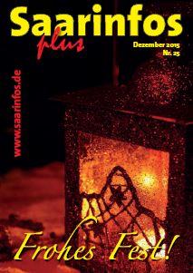 Titelbild Saarinfos Plus Dez 2015