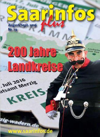 Saarinfos Plus Ausgabe Aug/Sept 2016