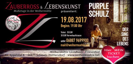 """""""PURPLE SCHULZ"""" Openair LIVE-Konzert Weihermühle"""