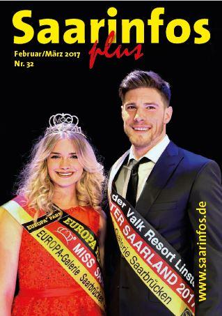 Titelbild Saarinfos Plus - Ausgabe Februar 2017