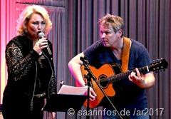 Nicole Metzger und Ro Gebhardt bei der vhs Sommer-Semestereröffnuung in Saarlouis - 10. März 2017 2514
