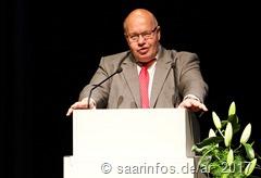 Kanzleramtsminister Peter Altmaier erinnertre an zahlreiche gemeinsame Aktionen in jungen Jahren 3881