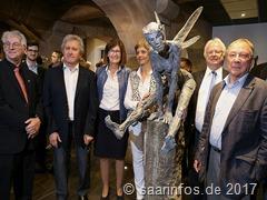 Élisabeth Cibot - Ausstellung der weltbekannten Skulpturistin auf der Vaubaninsel in Saarlouis