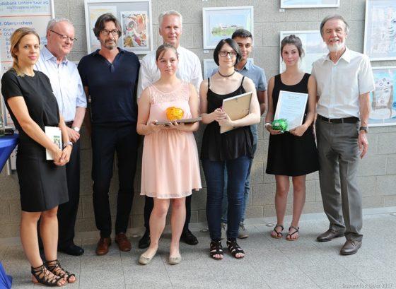 Die Preisträger beim Otto von Pidoll Kunstpreis 2017