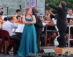Am Stausee - die glänzende Radio Philharmonie begleitete die nicht minder glanzvollen Solisten