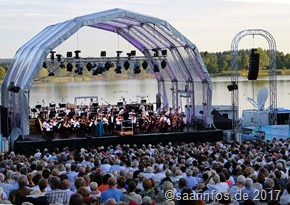 Am Stausee - 5000 Besucher kamen zum SR Klassik Open am Stausee