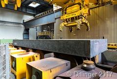 Weltweit erstmals 600 mm Brammendicke - Fertiggestellt