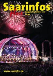 Titelbild Saarinfos Plus - Ausgabe August/September 2017