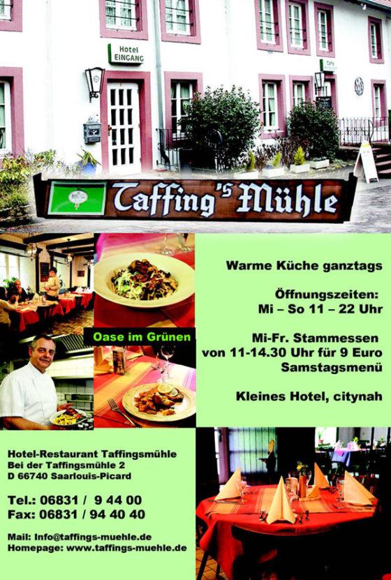 Hotel-Restaurant Taffing's Mühle