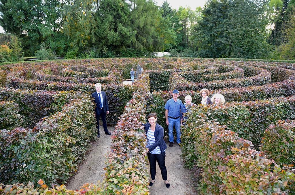 Neues labyrinth im garten der sinne eingeweiht - Garten der sinne merzig ...