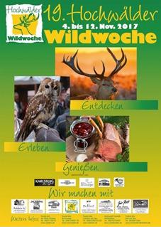 Plakat Wildwoche