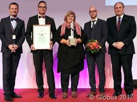 Globus mit Otto-Heinemann-Preis ausgezeichnet