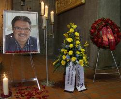 Beerdigung Roland Henz Foto: Thomas Seeber