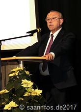 Bürgermeister Franz Josef Berg bei seinem Grußwort