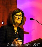Bürgermeisterin Marion Jost leitete durch die Amtseinführung