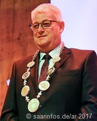 Der neue Oberbürgermeister bei seiner Antrittsrede