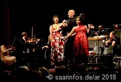 Ensemble und Orchester erwiesen sich als äußerst vielseitig.