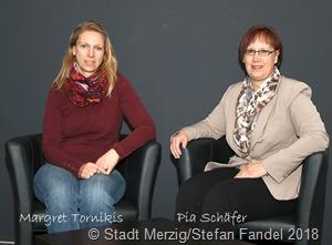 Margret Tornikidis ist zur neuen Frauenbeauftragten der Kreisstadt Merzig ernannt worden, ihre Stellvertreterin ist Pia Schäfer