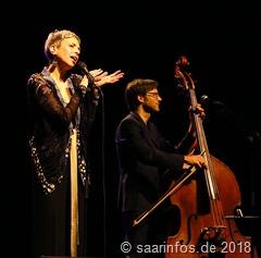 Das Konzert mit Helen Schneider war ein musikalischer Leckerbissen