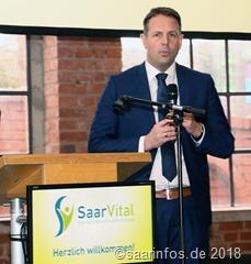 Gesundheitsmesse SaarVital - Staatssekretär Stephan Kolling