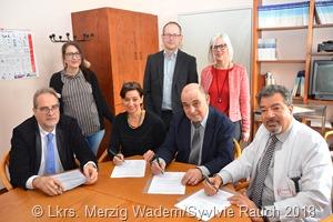 Unterzeichnung Kooperationsvereinbarung - Gruppe b