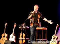 Gitarristen mit Weltformat begeisterten in Orscholz. Eröffnet wurde das Programm von Michael Marx 4537