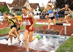 Bei den Frauen verpasste Antje Möldner-Schmidt die Norm um knapp 3 Sekunden