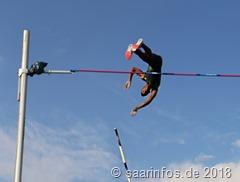Raphael Holzdeppe siegte im Stabhochsprung mit 5,62 Metern