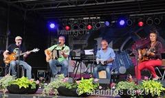 Die Formation 4 OF.US eröffnete das Kultur Stadt Fest musikalisch