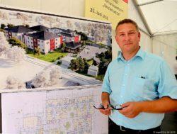 Neues AWO Seniorenzentrum - die Bauarbeiten haben begonnen