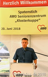 Bürgermeister Marcus Hoffeld begrüßte die Ansiedlung des neuen Projektes in der Innenstadt