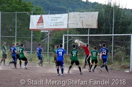 12 Mannschaften nahmen an den Spielen um den Merziger Stadtpokal 2018 teil