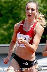 Laura Müller ist derzeit gut unterwegs. Sie hat die EM Normen über 100, 200 und 400 m erreicht