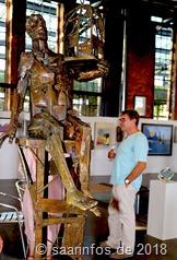 Unter den Exponaten befinden sich Werke von so bekannten Künstlern wie Jivko oder Michel Serraz