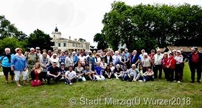 Rund 40 Merzigerinnen und Merzigernahmen u an dn Partnerschaftstagen in St Medard-en-Jalles teil