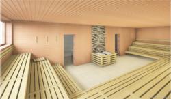 Umbaumaßnahmen im Saunabereich