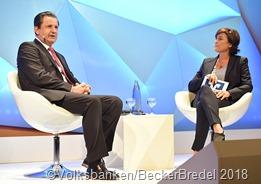 Das Wirtschaftsforum der saarländischen Volksbanken mit dem Thema