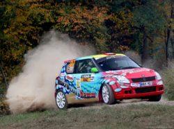 Markus Drüge gewinnt im Suzuki Swift das ADAC Rallye Masters