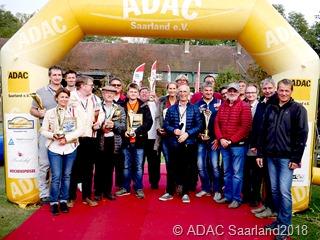 B Siegerehrung des ADAC Saarland Classic Cup 2018