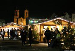 Dillinger Weihnachtsmarkt eröffnet