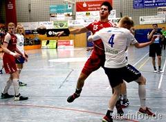 Der SparkassenCup hat  mit spannenden Spielen begonnen . Im Eröffnungsspiel siegte  die Schweizer A Jugend Auswahl mit 23:20 gegen das finnische Team