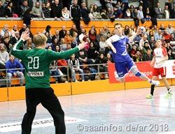 Die isländische Mannschaft (blaues Trikot) belegte den dritten Rang