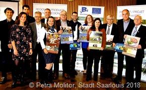 Wandkalender der AG Kataster und Kartografie der Großregion