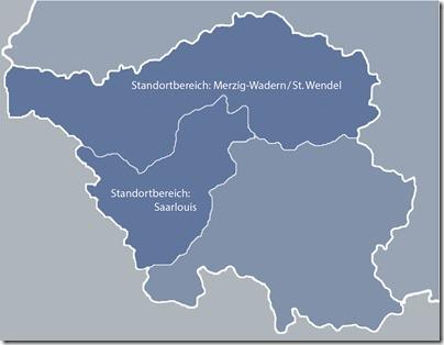 Neue Standortbereiche der Bundeswehr im Saarland