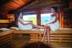 Saunanacht in vorweihnachtlichem Ambiente