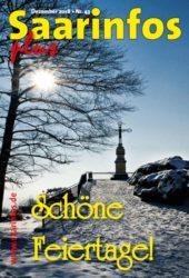 Titelbild Saarinfos Plus - Ausgabe Dezember 2018