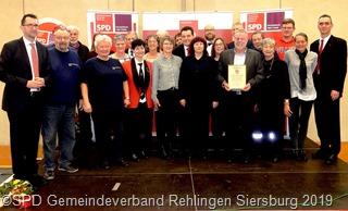 Neujahrsempfang des Gemeindeverbandes Rehlingen-Siersburg