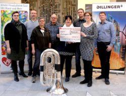 Benefizkonzert der Werkskapelle der Dillinger Hütte ergab 4000 Euro Foto: Nicole Muninger